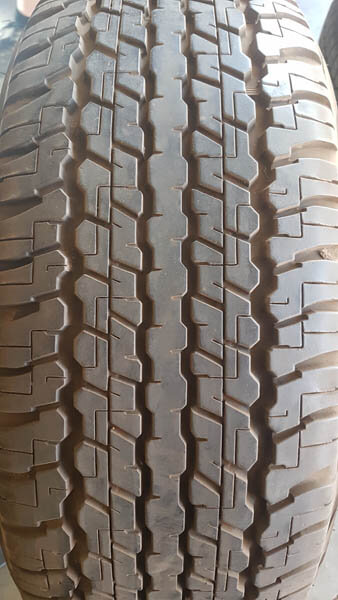 Two Dunlop AT22 275/65R17 Tyres 2