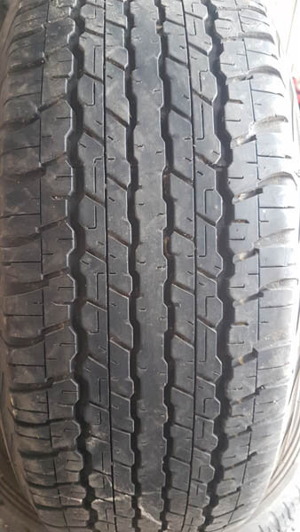 Four Dunlop AT22 265/65R17 Tyres 2
