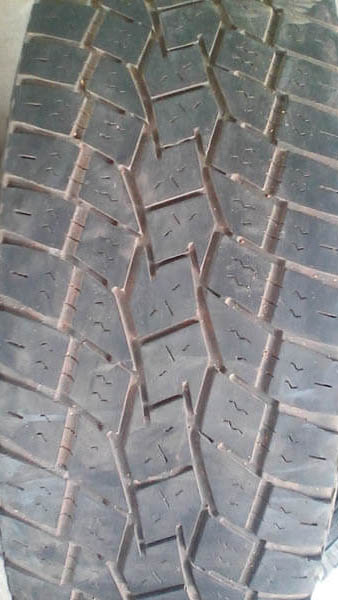 Two Toyo AT 255/70R15 Tyres 2